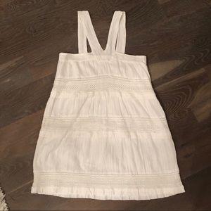 dra dress white xs